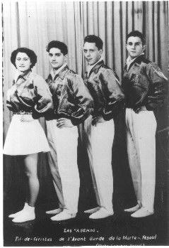 Les Agemos, fil-de- feristes 1950