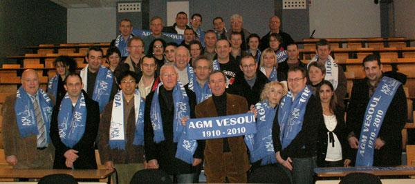 inauguration du site interenet de l'AGM Vesoul