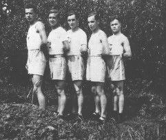 Athlétisme : Owens, Clément, Millet, Perrot, Zins