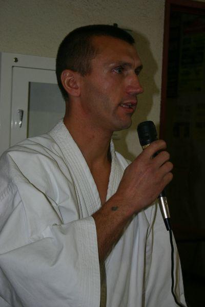 19 forum 2009 - Fred Mathieu, le Karaté est sa passion !