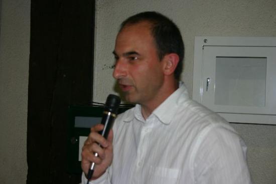 65 forum 2009 - Ludovic, nouveau président de l'US Escrime