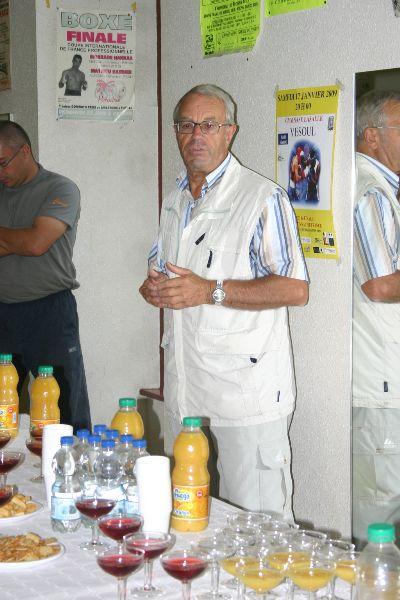 77 forum 2009 - Raymond Brenet clos le forum -