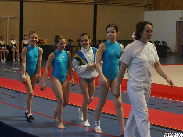 AGM Chaumont 2010_018 Sandrine, Justine, Elisa, Krystal et Yuliya
