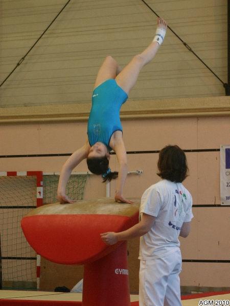 AGM Chaumont 2010_020 Justine en réglage