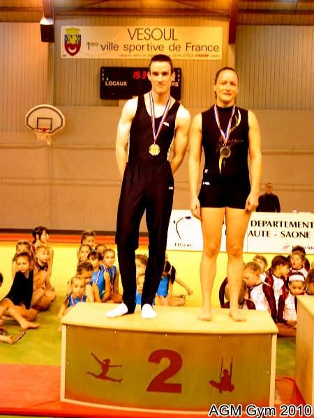 AGM Gym Adeline Garret et Benjamin Millot