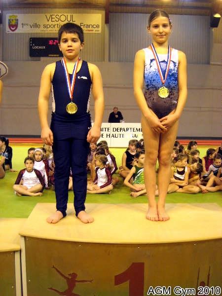 AGM Gym Jules Magnat et Adeline Claudel