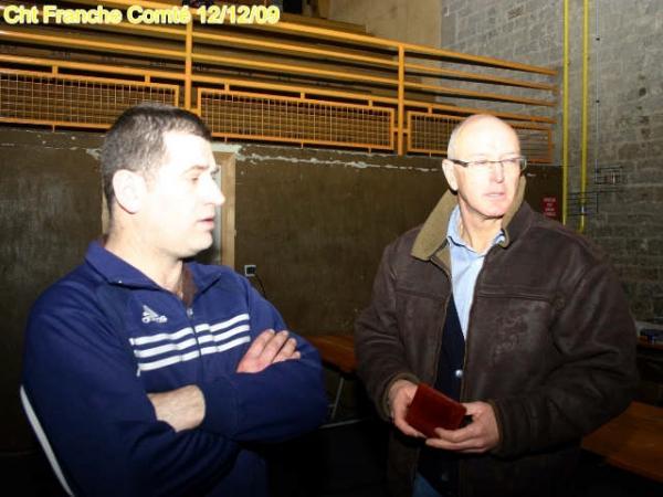 Alain Pahon et Francis Laurent : piliers de l'AGM Boxe Promotion