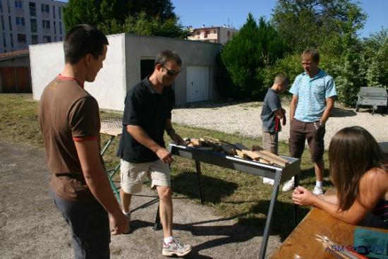 barbecue fabrication soignée signée Jocelyn Parisot
