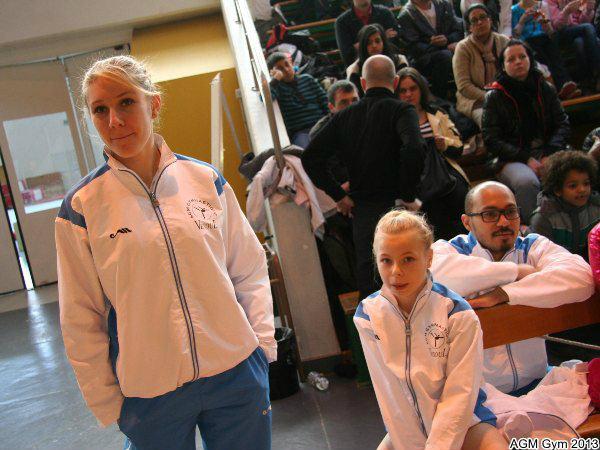 Coach Anaïs avec Eugénie et Idriss