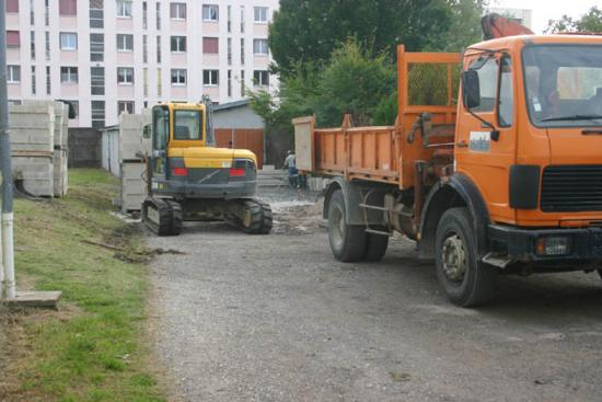 Construction du garage 02