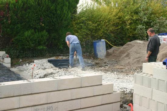 Construction du garage 04