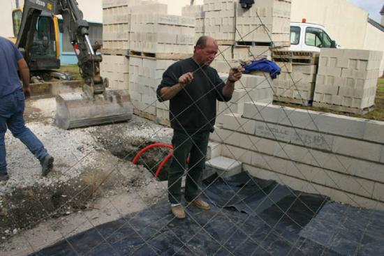 Construction du garage 06