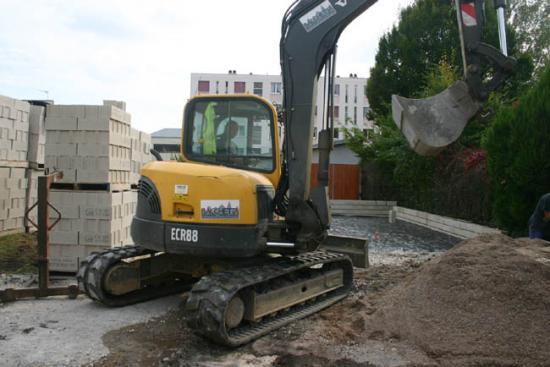 Construction du garage 07