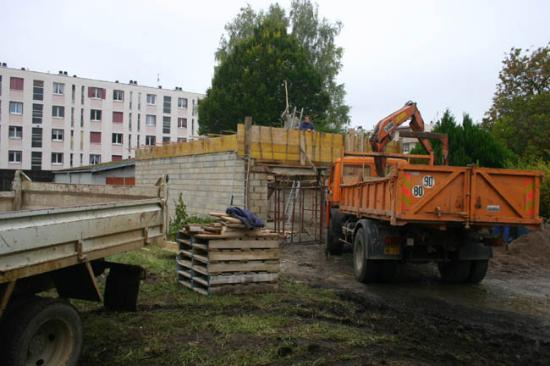 Construction du garage 09