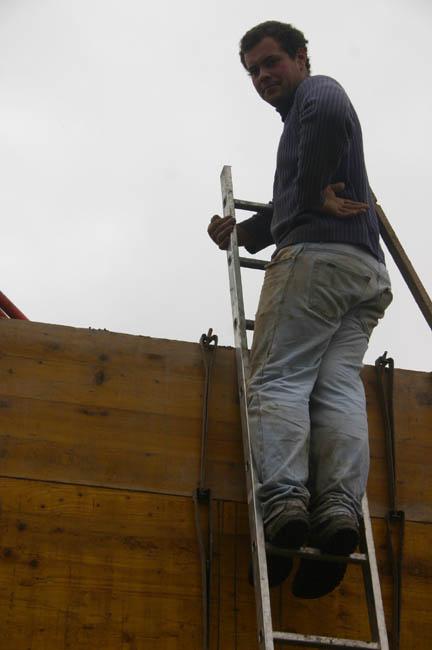 Construction du garage 12