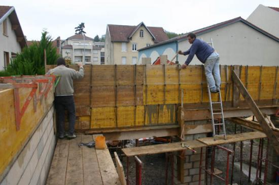 Construction du garage 13