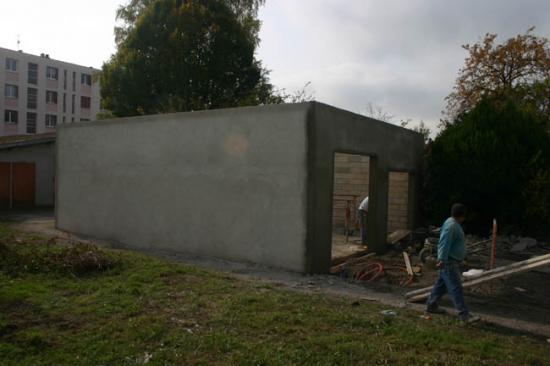 Construction du garage 17