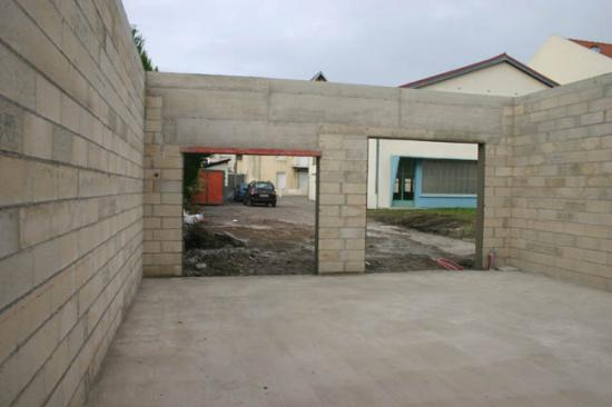 Construction du garage 18