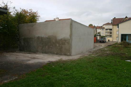 Construction du garage 19