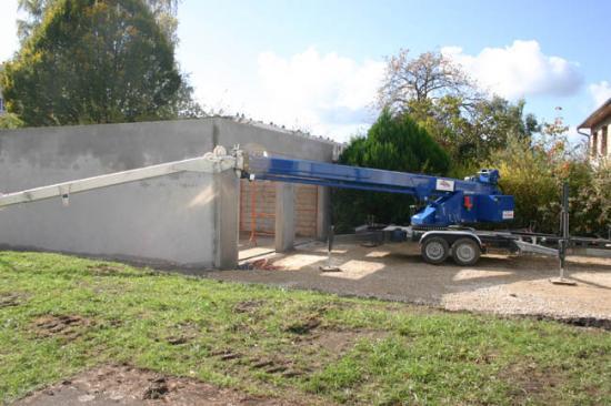 Construction du garage 21