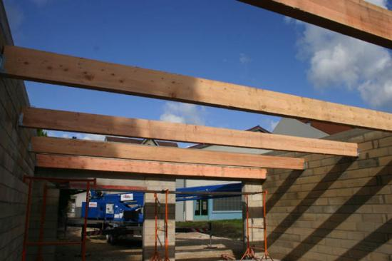 Construction du garage 23