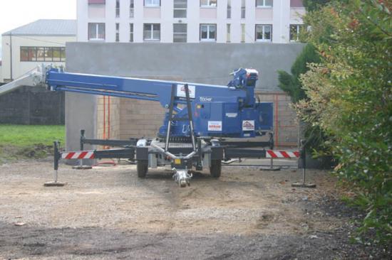 Construction du garage 25