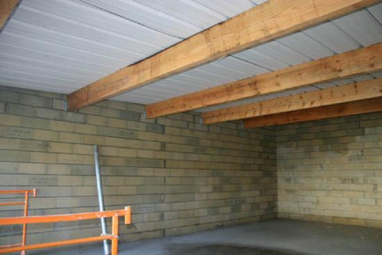 Construction du garage 26