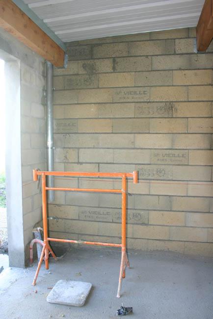 Construction du garage 27