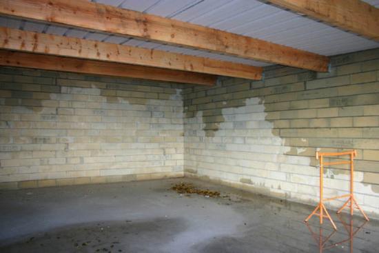 Construction du garage 28