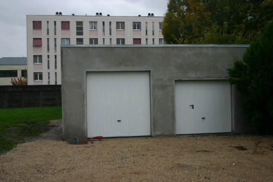 Construction du garage 30