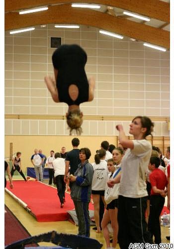échauffement mini trampoline