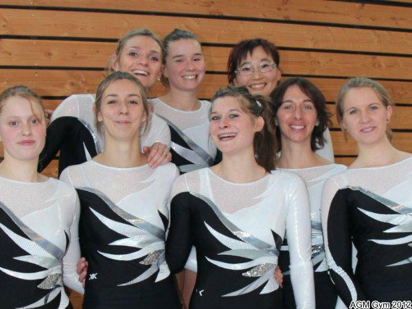 Equipe Team Gym Féminine