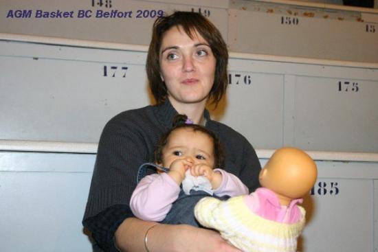 et Janelle avec sa maman
