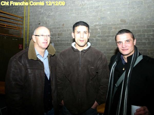 Francis Laurent, Rachid Khadda et Fred Tripp, beau trio !