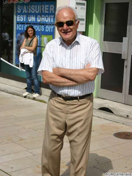 Jacques Jeandel, ancien trésorier de l'AGM Omnisports