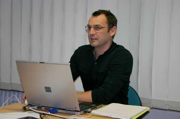 Jérôme présente le bialn 2009