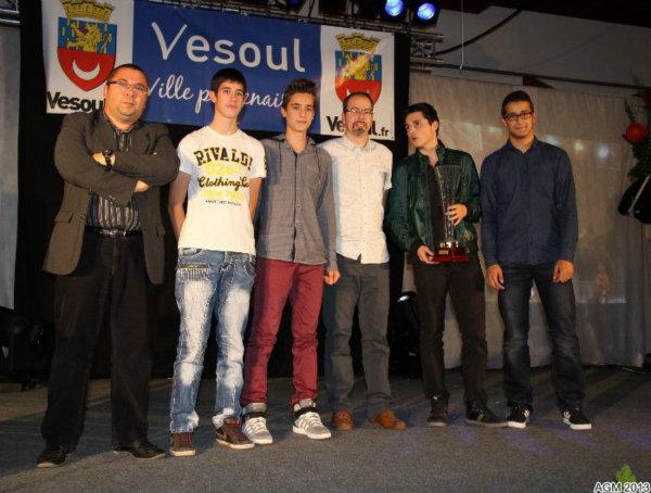 les cadets de l'AGM basket : champions de FC