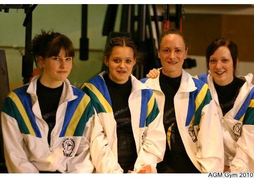 Louise, Valériane, Adeline et Clémence