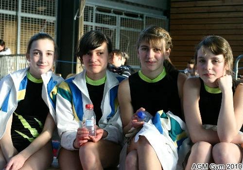 Mallorie, Lou, Elisa, Marie : cadettes