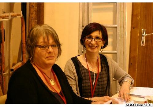 Nadine et Marie Luce : contrôle des licenses !