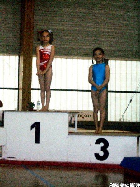 Océane troisième en 2002