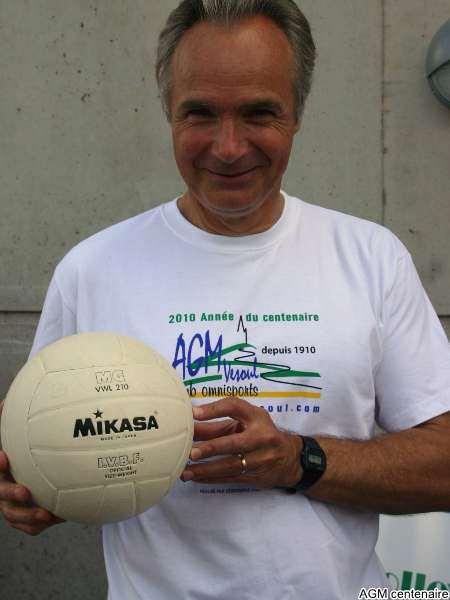 Patrick Saby et son ballon \