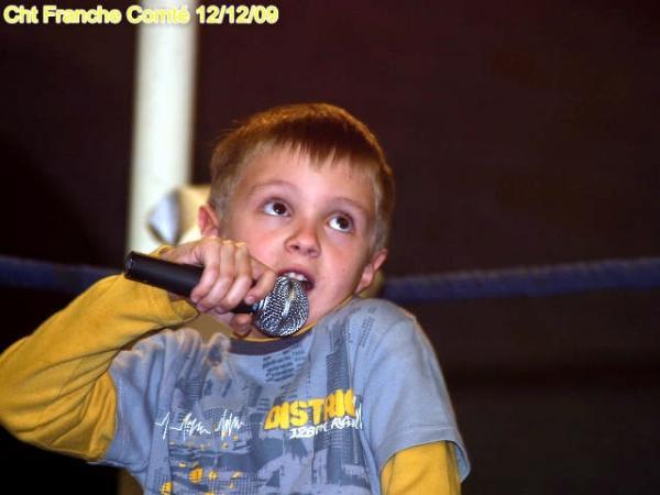 petit chanteur deviendra grand ?