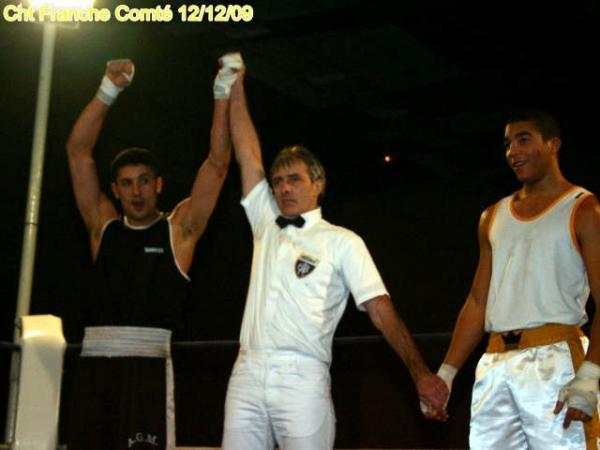 Rachid Khadda, champion de Franche Comté convainquant