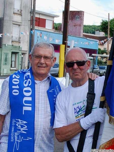 René ancien secrétaire général et Maurice : retrouvailles