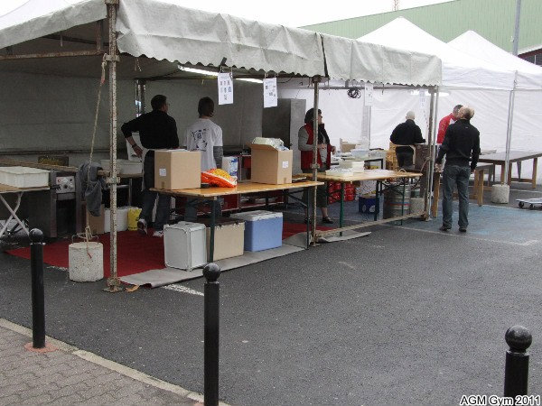 stands  restauration