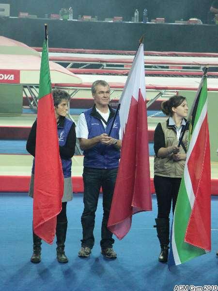 Sylvette et Daniel francs comtois  bénévoles de la compétition