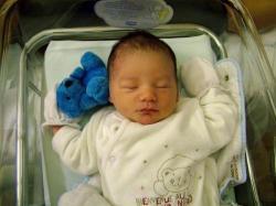Nolan à la maternité